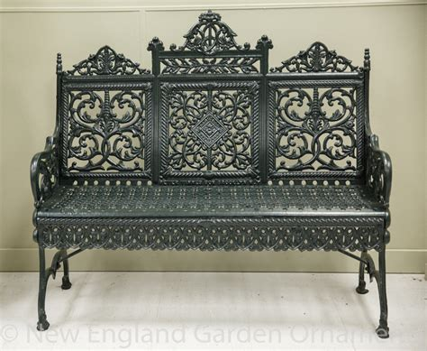 antique iron bench antique peter timmes cast iron benches
