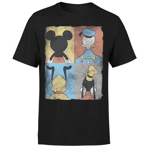 Tshirt Mickey Mouse Black disney mickey mouse donald duck mickey mouse pluto goofy
