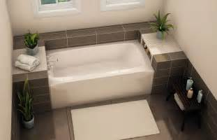 Bathtubs For Tall People To 3260 Alcove Bathtubs Aker By Maax