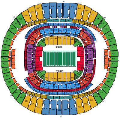 saints superdome seating map diagram superdome football seating engine auto parts