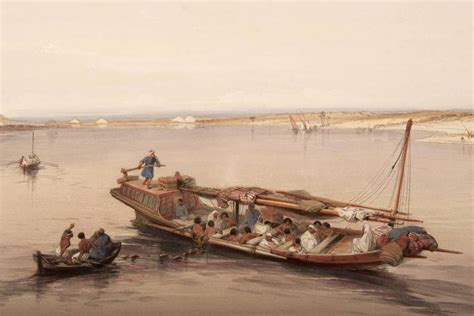 slave boat slave boat on the nile by david roberts for sale at 1stdibs