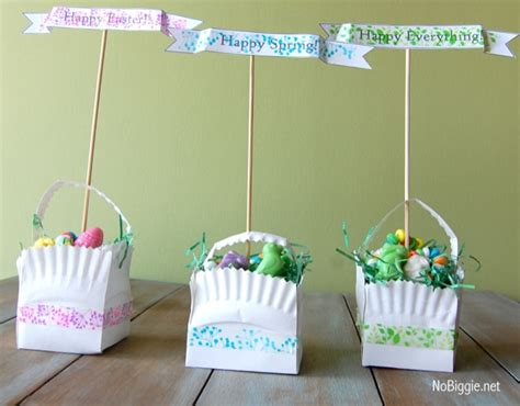 creative easter basket craft ideas how to make and washi tape easter crafts free printable