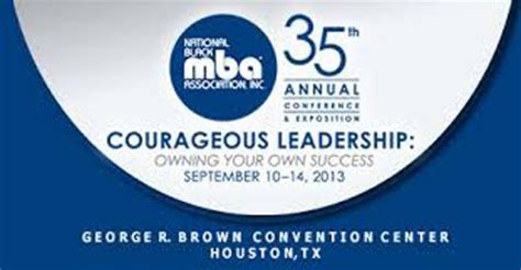 National Black Mba Association by National Black Mba Association 174 35th Annual Conference