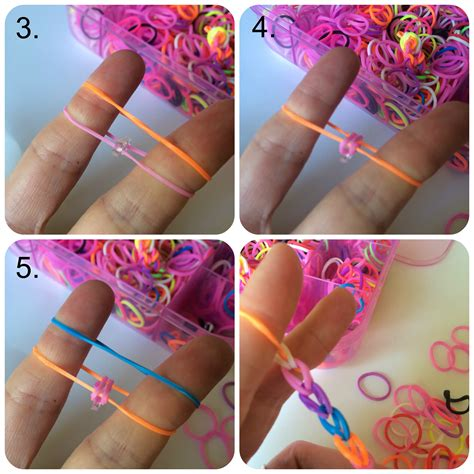 how to make loom bands with how to make a fishtail loom band bracelet the of