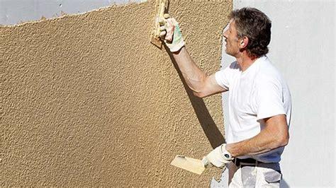 putz reparieren innen fassade renovieren mit dem richtigen putz