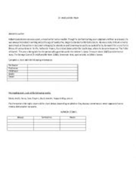 DR. JEKYLL AND MR. HYDE - ESL worksheet by Miluzca