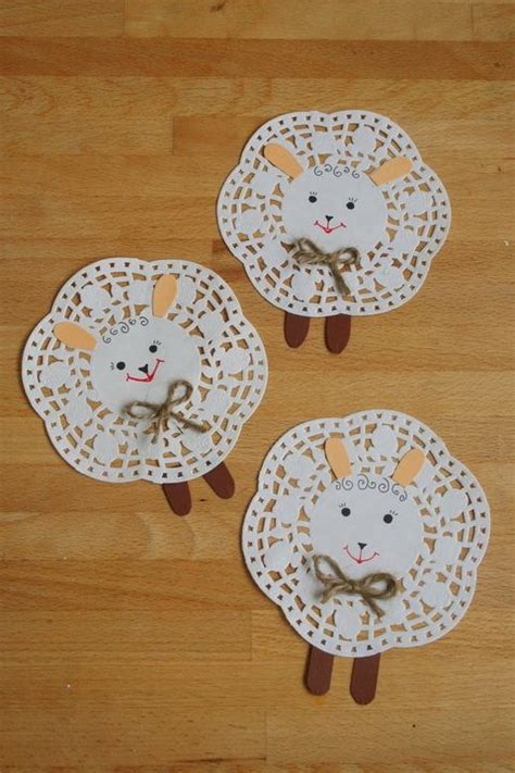 Paper Doilies Crafts - 100 ideas to try about kdv dieren animaux zoos and