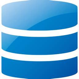 Web 2 blue database icon - Free web 2 blue database icons ...