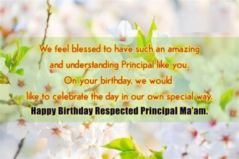 Happy Birthday Ma Am Quotes 43 Meaningful Principal Birthday Wishes Greetings