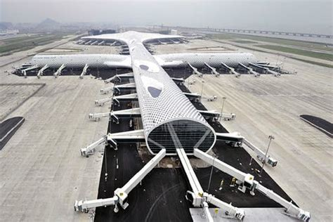 air max terminal 3 at shenzhen airport by studio fuksas shenzhen airport terminal 3 by studio fuksas opened news