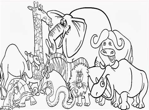 zoo coloring pages printable zoo coloring pages for kids az coloring pages