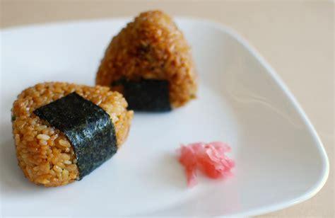 printable japanese recipes onigiri or japanese rice balls recipe