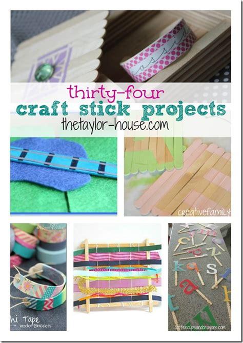 craft stick projects 34 craft stick projects the house