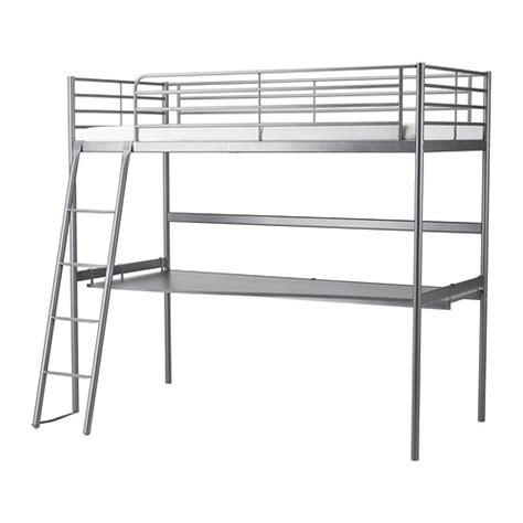 Bunk Bed Frame Ikea Sv 196 Rta Loft Bed Frame With Desk Top Ikea