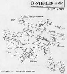 Contender 174 assembly drawing