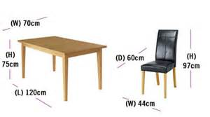 Dining Table Chair Measurements Introduction To Dining Furniture Buying Guide At Argos Co