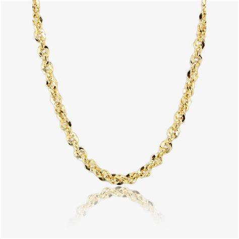 jewelry chains 9ct gold 18 quot chain necklace