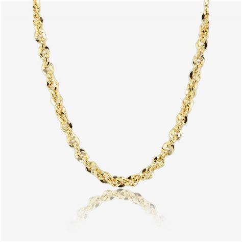 """9ct Gold 18"""" Aurora Chain Necklace"""
