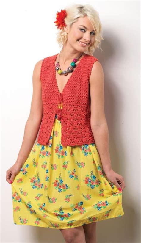 pattern crochet waistcoat shell crochet waistcoat free let s knit crochet pattern