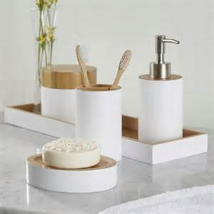 Mid Century Accent Table Birch Lane Rousseau 6 Piece Bathroom Accessory Set