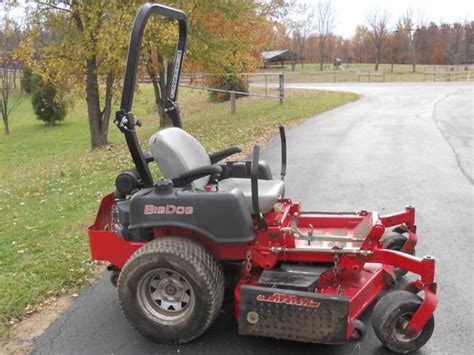 big mowers big x 1060 ztr lawn mower