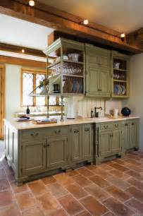 Green Cabinets In Kitchen Pop Of Color Kitchen Cabinets How To Nest For Less