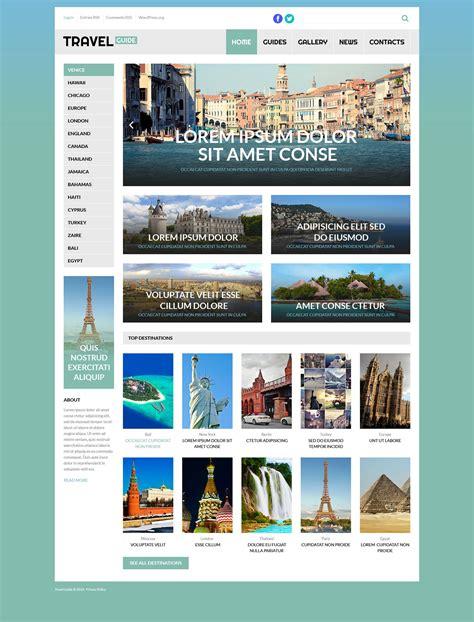 wordpress layout guide travel guide wordpress theme 53260