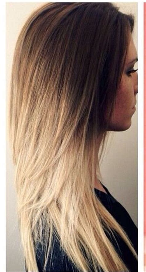 ambre blends hair reverse ambre hairstyles pinterest