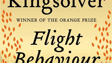 Barbar Kingsolver Flight Behavior the omnivore 187 flight behaviour by barbara kingsolver