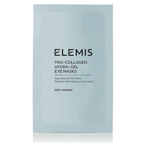 elemis pro collagen hydra gel eye mask pack of 6 hq hair