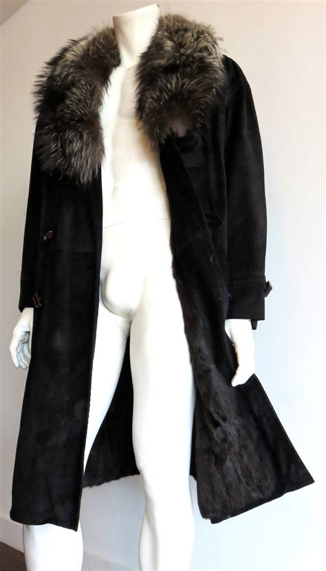 Zilli Home Interiors by 1980 S Zilli France Men S Corneille Calf Suede Fur Lined