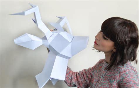 Comment Faire Un Cerf En Origami by Tuto Origami Tete De Cerf