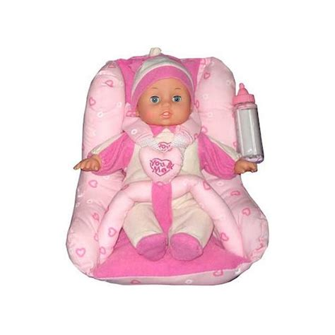 doll booster seat toys r us you me 12 quot doll with car seat toys r us
