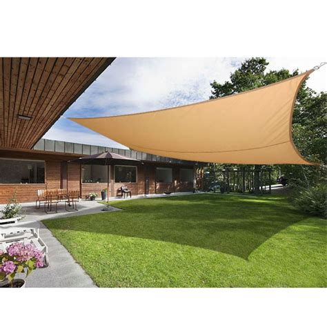 sail shaped awnings sun shade sail garden patio awning canopy sunscreen 98 uv