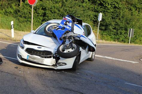 Motorrad Saarland by Verkehrsunfall Mit Schwerverletztem Motorradfahrer In