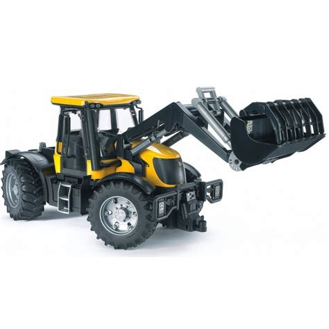 bruder farm toys bruder toys jcb tractor with frontloader 03031 farm toys