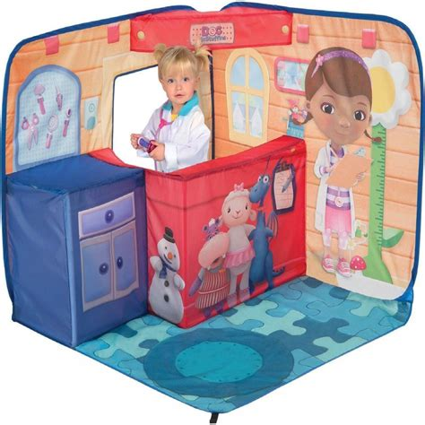 doc mcstuffins outdoor playhouse disney doc mcstuffins 3d play scape pop up toy playhouse