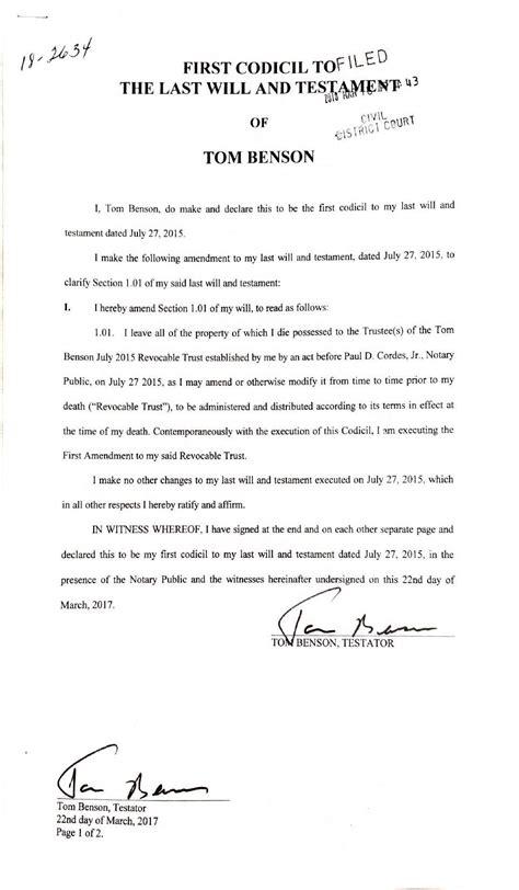 tom bensons  read full court filing   saints