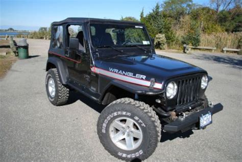 2002 Jeep Accessories Purchase Used 2002 Jeep Tj Sport 4 0l Many Aftermarket