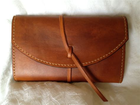 Handmade Leather - handmade leather refillable journal cover for moleskine made