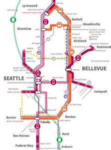 seattle railway map 1000 images about maps on seattle light rail and pride parade