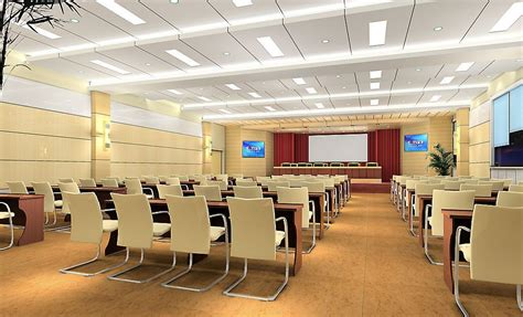 meeting room layout ideas pale yellow conference room design rendering coc