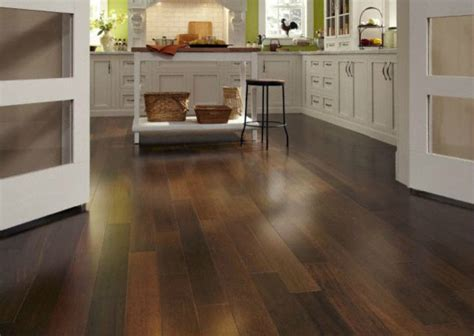 Engineered Hardwood In Kitchen Schon Walnut Engineered Hardwood Flooring By Lumber Liquidators