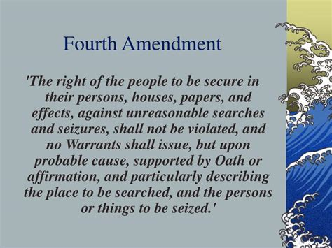 The Amendment Essay by At Least One Other Person Edit Your Essay About 4th Amendment Essay