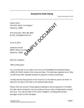 Demand Letter Tagalog demand for debt owing philippines templates