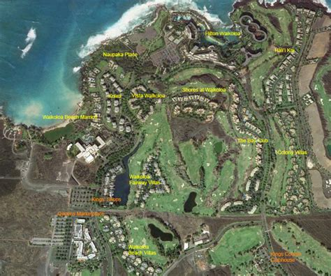 waikoloa resort area map waikoloa resort big island bob furneisen r b