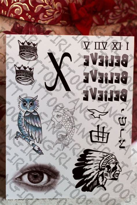 Justin Bieber Fake Tattoo | justin bieber inspired temporary tattoos etsy justin