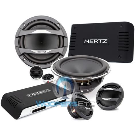 3 way component speaker system mlk 3pa hertz 6 5 quot 3 way component speakers system