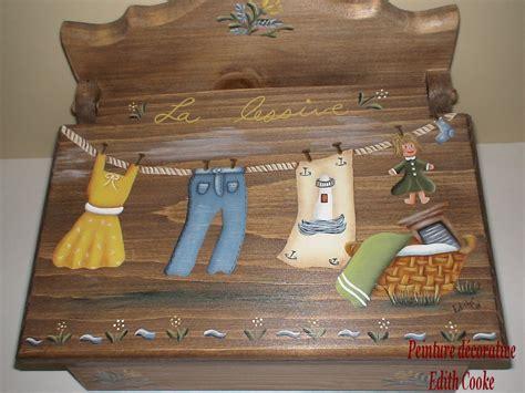 Epingle A Linge Decorative 4472 by Peinture D 233 Corative Edith Cooke Boite 224 233 Pingle La Lessive