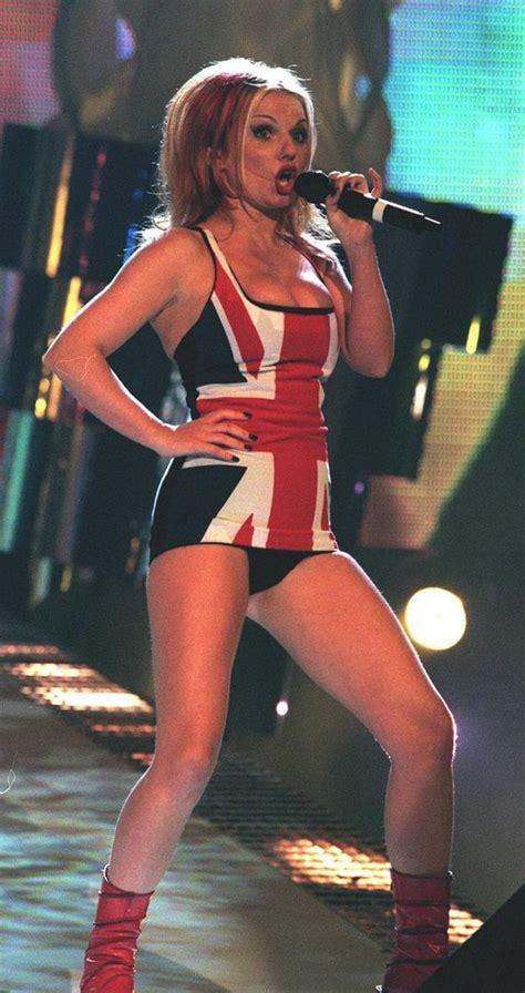 Buy Geri Halliwells Brit Awards Dress by Brit Awards Top Fashion Moments Geri Halliwell Adele